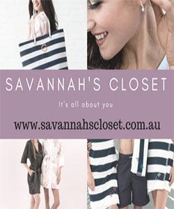 Savannah's Closet Advertisement
