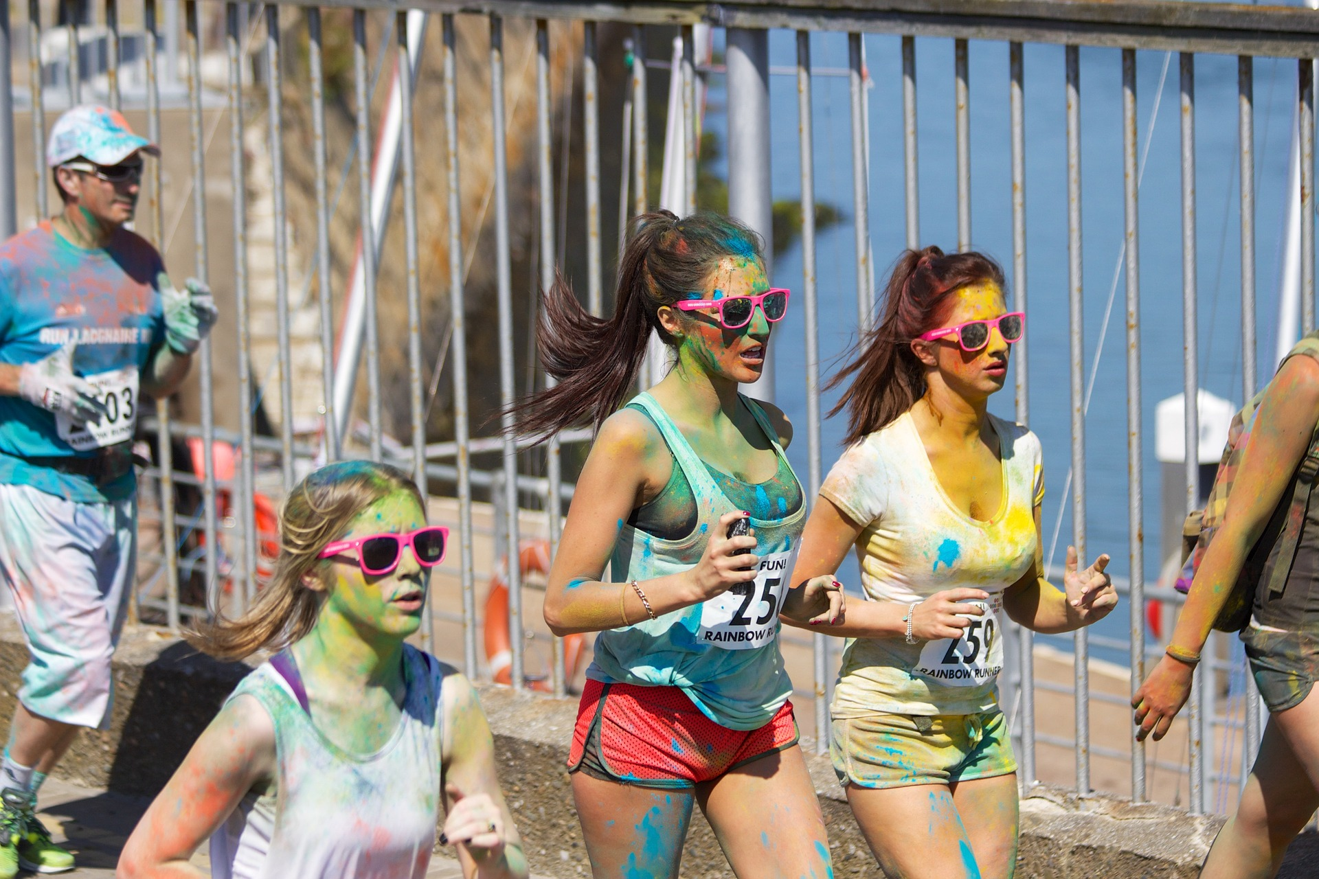 Sunfest Colour Run